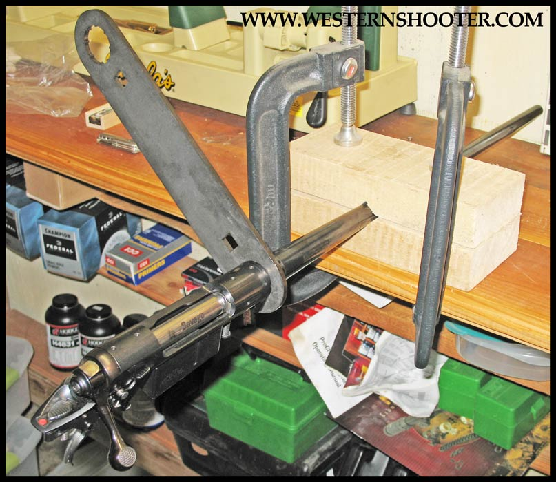 how to build or rebarrel a savage rifle western shooter