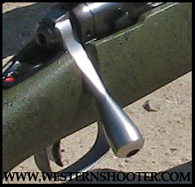 Stainless Savage Oversize Bolt Handle