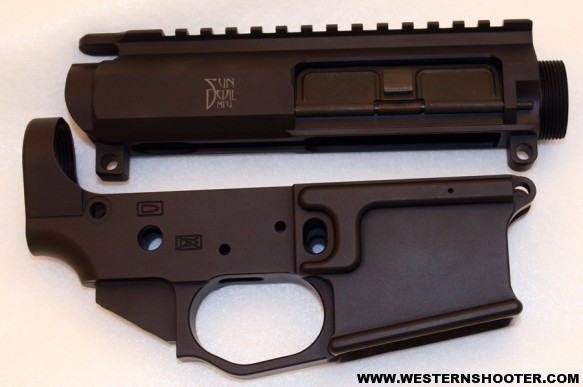 Billet Lower Receiver With Forged Upper Upper And Lower Receivers