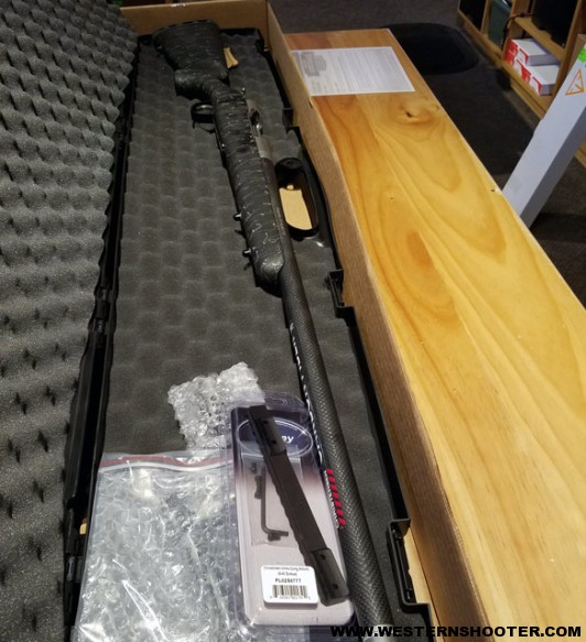 Picking up the Christensen Arms Ridgeline in 28 Nosler from Cabela's