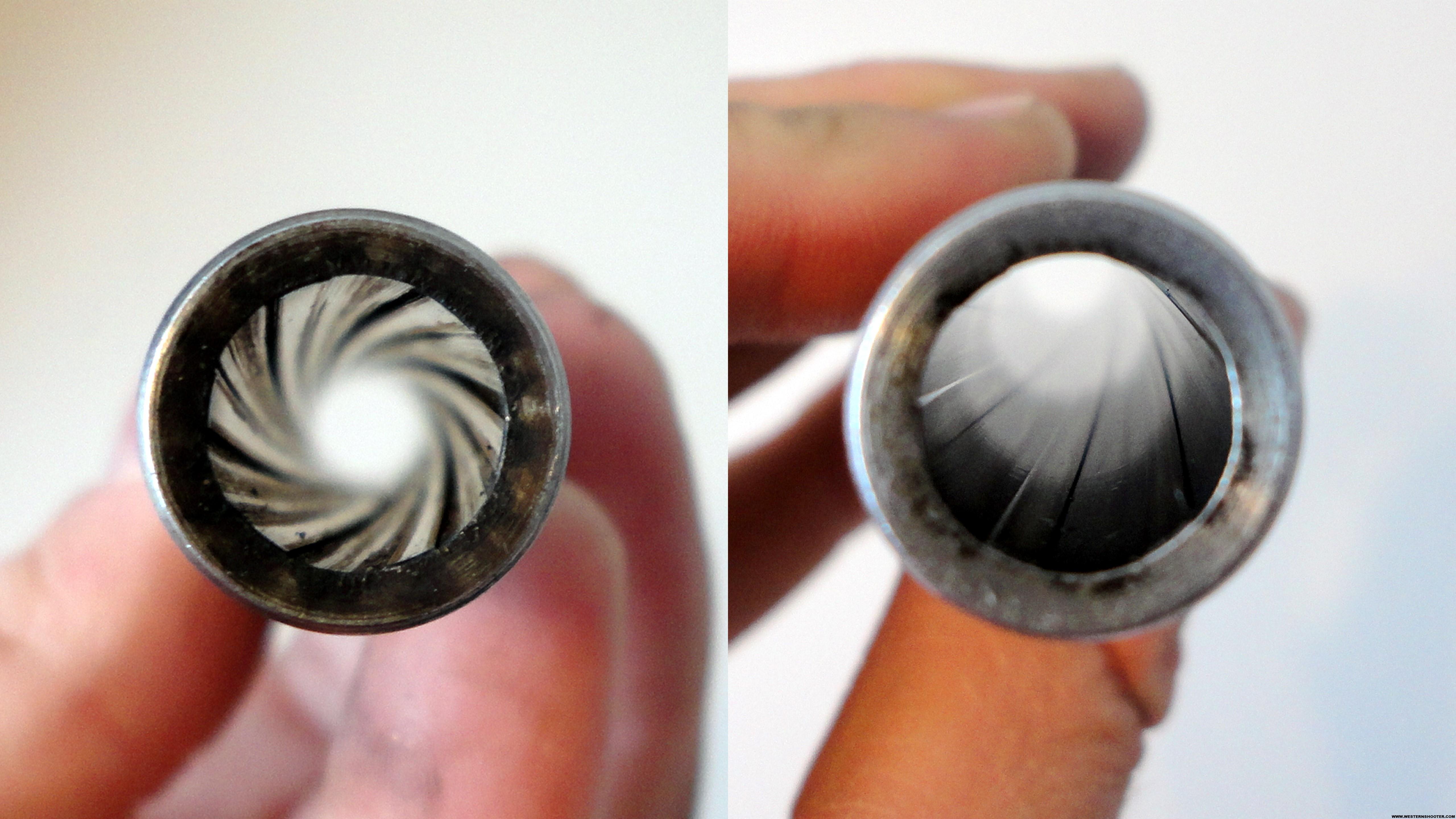 clean gun barrel
